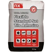 NX Standard set Ready mixed White Floor & wall Tile Adhesive 10kg