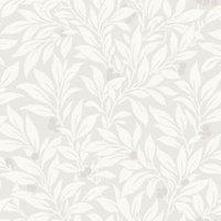 Fine Décor Mulberry Soft grey Floral Wallpaper