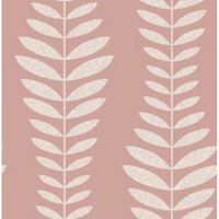 Fine Décor Hampten Blush Floral Smooth Wallpaper