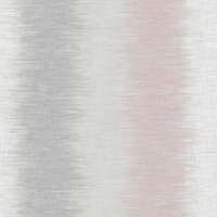 Fine Dcor Aukland Grey & pink Striped Smooth Wallpaper
