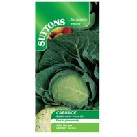 Suttons Cabbage Seeds  Golden Acre Primo (11) Mix