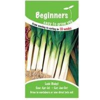 Suttons Beginners Leek Seeds  Atal Mix