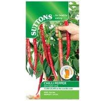 Suttons Chilli pepper Seeds  Joe's super long