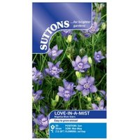 Suttons Love-in-a-mist Seeds  Nigella blue stars