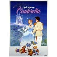 Cinderella Multicolour Printed Canvas (W)350mm (H)500mm