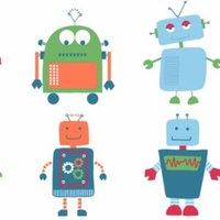 Robot Children's Wallpaper