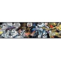Star Wars Multicolour Comic Border.