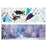 'Disney Disney Frozen Blue Self-adhesive Wall Sticker (l)700mm (w)500mm