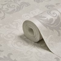 Graham & Brown Elegance Silver Mica Wallpaper