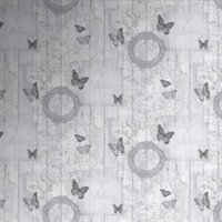 Fresco Charcoal Butterfly Wallpaper