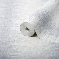 Julian Macdonald Illusion Stripe Silver glitter effect Wallpaper