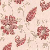 Graham & Brown Juliet Red Floral Wallpaper