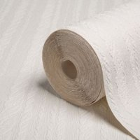 Graham & Brown Superfresco White Cable Paintable Wallpaper