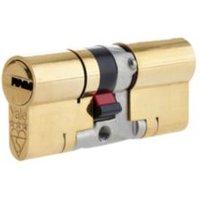Yale 100mm Brass Euro cylinder lock