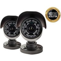 Yale HD Wired Outdoor bullet camera twin pack HDC-403G-2