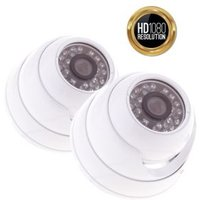 Yale HD Wired Indoor dome camera twin pack HDC-402W-2