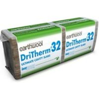 Knauf DriTherm Glasswool Insulation board (L)1.2m (W)0.46m (T)75mm Pack of 6
