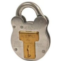 Squire Old English Steel 4 Lever Padlock (W)51mm