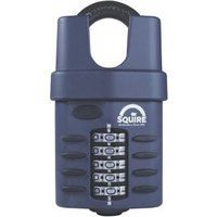 Squire CP60C/S Steel Closed Shackle Padlock (W)60mm