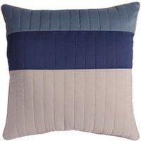 Boston Striped Blue & Cream Cushion