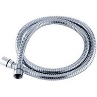 Triton Chrome effect Stainless steel Shower hose (L)1.25m
