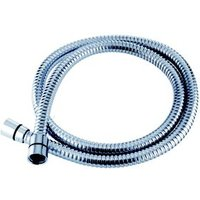 Triton Chrome effect Stainless steel Shower hose 2m
