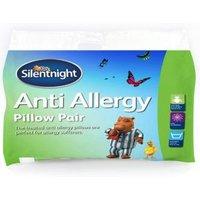 Silentnight Anti-Allergy White Pillow  Pack of 2
