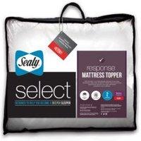 Sealy White King Size Mattress Topper