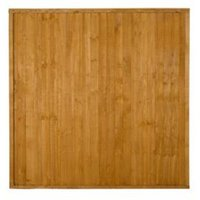 Wood Closeboard Fence Panel (W)1.83 m (H)1.83m  Pack of 4