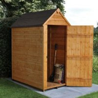 5x3 Forest Apex Overlap Wooden Shed