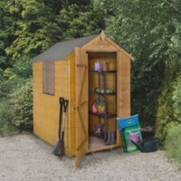 6x4 Forest Apex Shiplap Wooden Shed