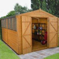 Forest 12x8 Apex Shiplap Wooden Shed