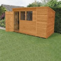 10x6 Forest Pent Overlap Wooden Shed