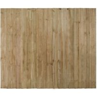 Heavy Duty Wood Featheredge Fence Panel (W)1.83 m (H)1.5m  Pack of 4