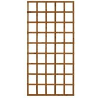 Wooden Rectangle Trellis (H)1.83m(W)0.91m  Pack of 4
