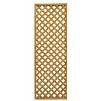 Wooden Diamond lattice Trellis (H)0.61m(W)1.83m  Pack of 5