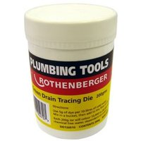 Rothenberger White Drain tracing dye 200g.