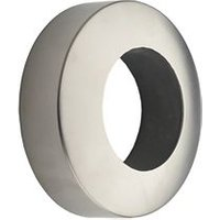 Round Brushed Stainless steel End socket (Dia)40mm