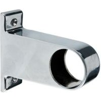 Colorail Chrome End socket (Dia)32mm  Pack of 2