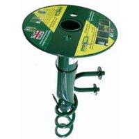 SpyraBase Green Steel Ground anchor (W)38mm