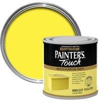 Rust-Oleum Painter's touch Bright yellow Gloss Multipurpose paint 0.25L