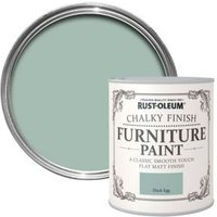 Rust-Oleum Duck egg Chalky Matt Furniture paint 750 ml