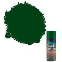 Rust-Oleum Quick Colour Green Gloss Gloss Multi Surface Spray Paint 400 ml