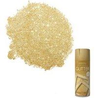 Rust-Oleum Glitter Gold Textured Effect Glitter Decorative Spray Paint 400 ml