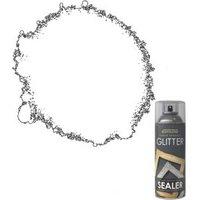 Rust-Oleum Super sparkly Clear Gloss Light base Glitter sealer 0.4L