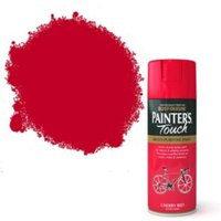 Rust-Oleum Painter's touch Cherry red Gloss Decorative spray paint 400 ml