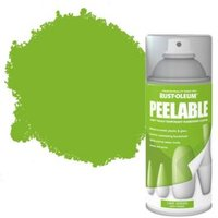Rust-Oleum Lime green Matt Peelable spray paint 150 ml