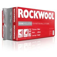 Rockwool Acoustic Cavity slab (L)1.2m (W)0.6m (T)50mm Pack of 12
