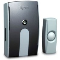 Byron Wirefree White Portable Door Chime