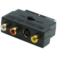 Smartwares (L)0.06m 3 phono to scart lead
